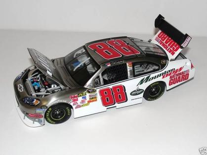 2009 Dale Earnhardt Jr #88 Amp Energy 1/24 Scale Brushed Metal Diecast