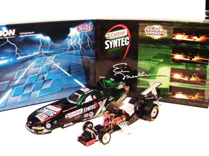 Funny Car NHRA Eric Medlen Castrol Pomona Raced Version 2005 Mustang 1of 210