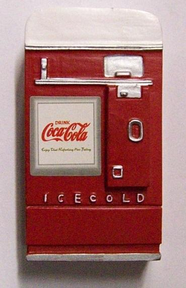 Vending Machiche Coca-Cola 1:24