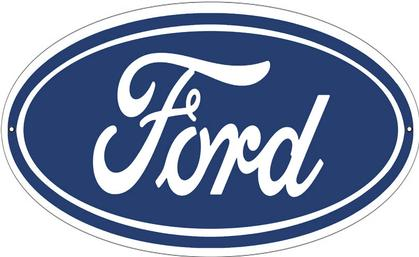 Ford Sign Oval