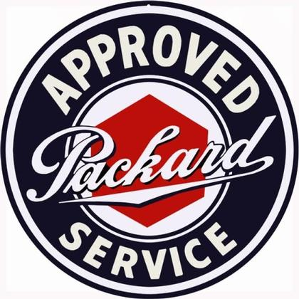 Approved Packard Service Round