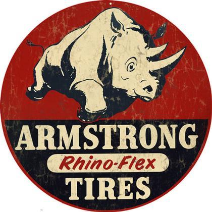 Armstrong Rhino-Flex Tires Round