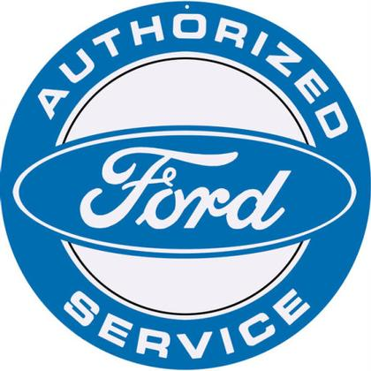 Ford Authorized Service Round