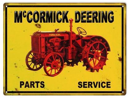 McCormick Deering Parts Service