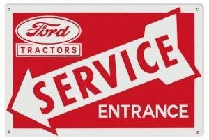 Ford Tractors Service Entranc