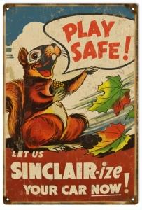 Play Safe Let Us Sinclair-Ize Your Car Now