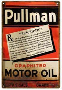 Pullman Graphite Motor Oil