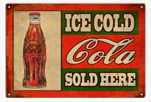 Ice Cold Cola Sold Here