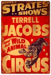 Strates Shows Terrell Jacobs Wild Animal Circus