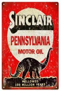Sinclair Pennsylvania Motor Oil