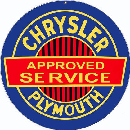Chrysler Plymouth Approved Service