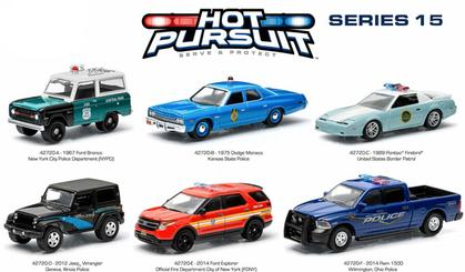 6 Cars Assortment - Hot Pursuit Series 15