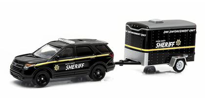 2014 Ford Interceptor Utility with Trailer - Hitch and Tow Series 3