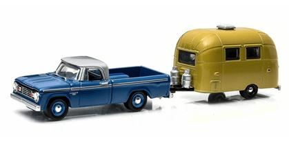 1966 Dodge D-100 Pickup with Airstream - Hitch & Tow Series 3