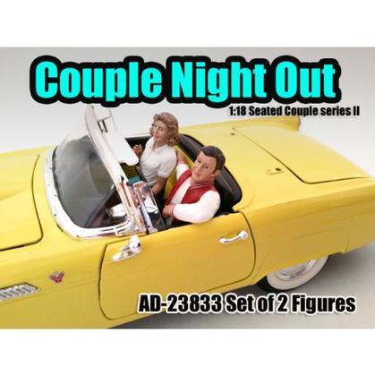 Seated Couple II (Set of 2)