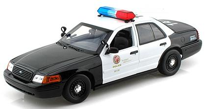Ford Crown Victoria Los Angeles Police