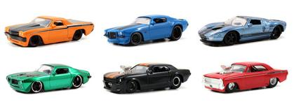 Set of 6 Car BigTime Muscle - Wave 20
