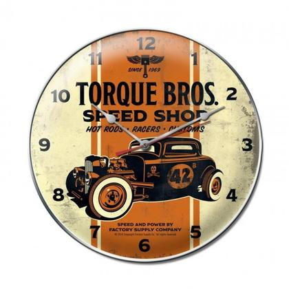 Torque Brothers 32 Coupe clock