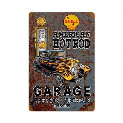 HOT ROD SHELL GAS