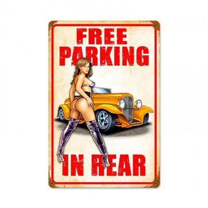 FREE PARKING ROD