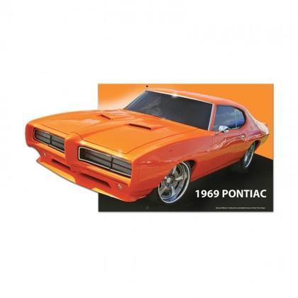 1969 PONTIAC GTO ORANGE