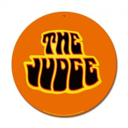 Pontiac GTO The Judge  **Shield Metal Sign**