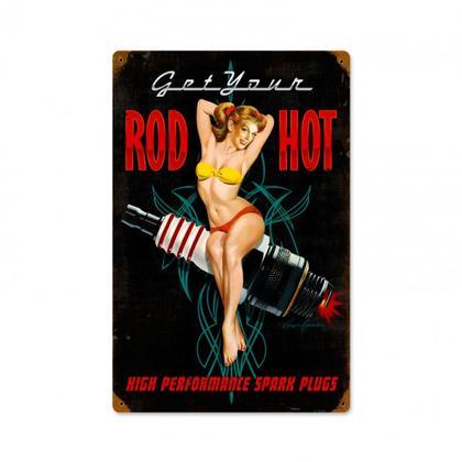 Rod Hot Spark Plug