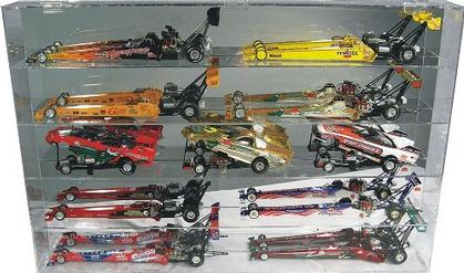 Dragster Display Case for 10 1/24