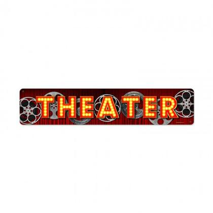 THEATER WHEELS  **Shield Metal Sign**