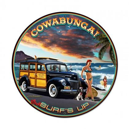 COWABUNGA SURF'S UP