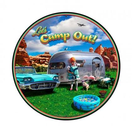 LET'S CAMP OUT!