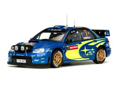 Subaru Impreza WRC07 #7 Solberg/Mills (Wales Rally GB 2007)