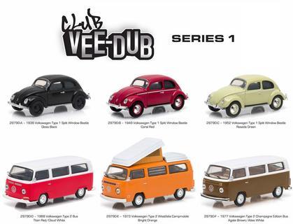 Club V-Dub Series 1 (1:64 Volkswagen set)