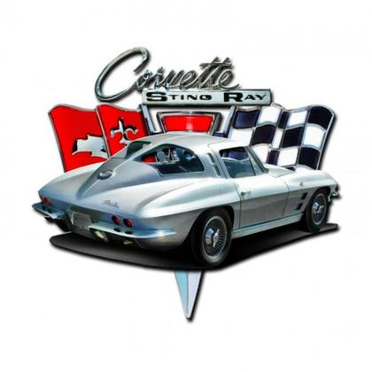 SPLIT WINDOW CHEVROLET CORVETTE STING RAY 3D