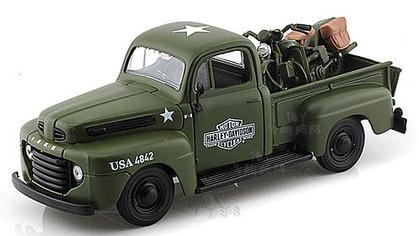 Ford F-1 Pickup 1948 / WLA Flathead 1942