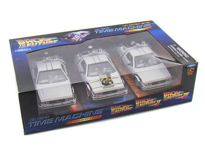 Delorean Time Machine Trilogy Pack
