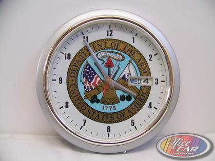 U.S. Army Clock with date