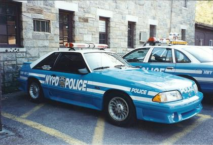 Ford Mustang Gt 1988 Quot Nypd Police Quot
