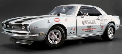 Chevrolet Camaro Z/28 1968 Quicksilver Drag Car