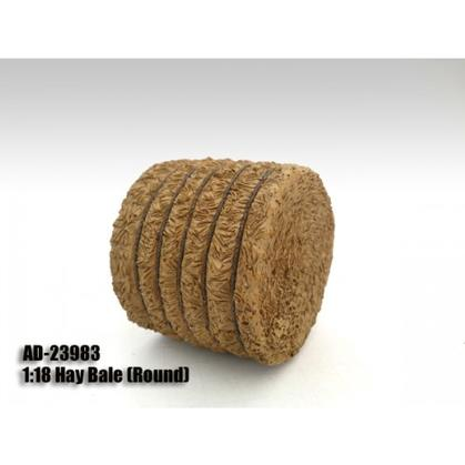 Accessory - Hay Bale (Round)