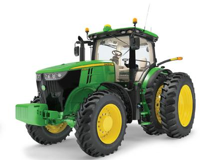 John Deere 7290R Tractor with Duals - Prestige Collection