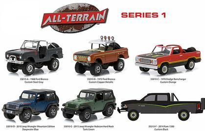 All-Terrain Series 1 1:64 Set