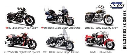 Harley-Davidson Series 33 (6 Motorcycles)