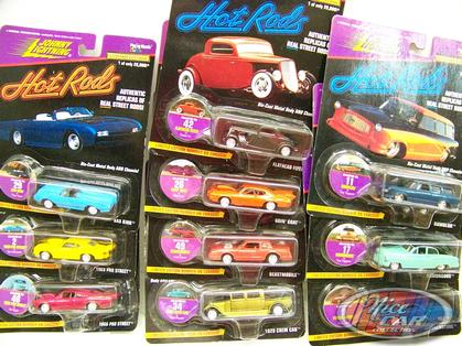 Set of 10 cars Hot Rods Series