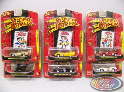 Set of 6 Cars Speed Racer