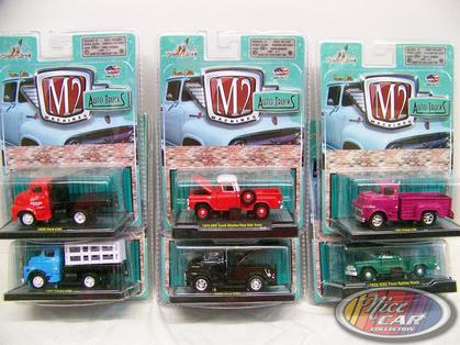 Set of 6 trucks of Auto-Trucks Series Release 21