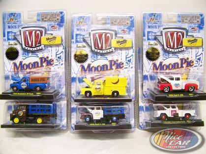 Set of 6 trucks of Moon Pie Series