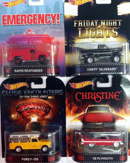 Set of 4 Cars of Movie
