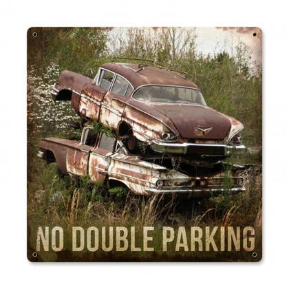 NO DOUBLE PARKING