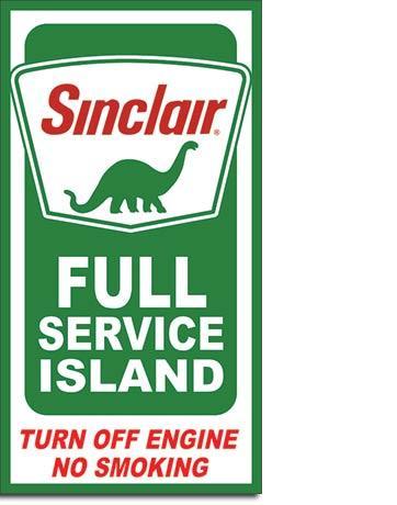 Sinclair Full Service Island